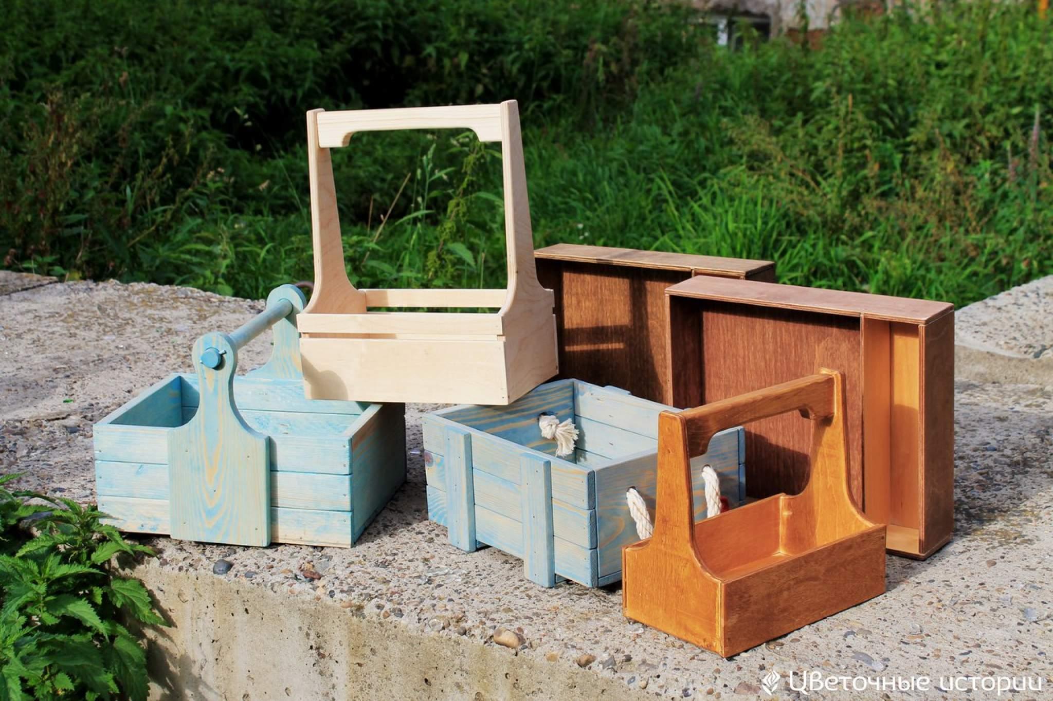 Сделать деревянный ящик для цветов своими руками